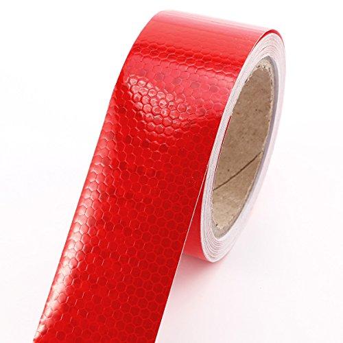 10m-x-5cm-ruban-autocollant-bande-rflchissant-lumire-rouge