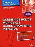 echange, troc Françoise Thiébault-Roger - Gardien de police municipale et garde champêtre principal