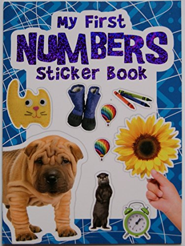 Children's My First Numbers Sticker Book - 1