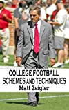 College Football Schemes and Techniques (English Edition)