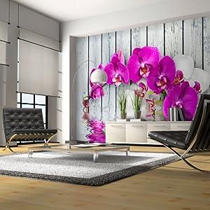 vlies fototapete 300x231 cm top tapete wandbilder xxl blumen 10040906 23. Black Bedroom Furniture Sets. Home Design Ideas