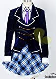高品質コスプレ衣装  ★じょしらく  暗落亭苦来(あんらくてい くくる)    コスチューム、コスプレ