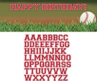 Creative Converting Sports Fanatic Baseball Giant Party Banner with Stickers, Multicolor by Creative Converting