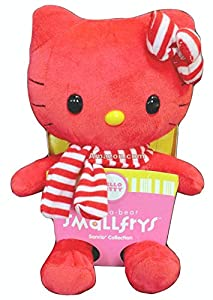 Build a Bear Workshop Smallfrys Red Hello Kitty Stuffed Plush Mini 8 in. Sanrio Toy Animal