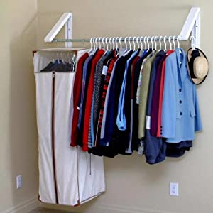 Arrow Hanger AH3X12 Quik Closet Clothes Storage System