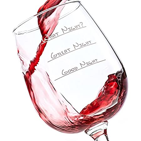What sort of night will it be? A good one spent with friends and family? A great one with plenty of laughter and fun? Or one that is such a blast it's just a blur the next day? The amount of wine you pour might make all the difference between o...