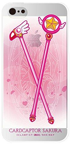 グルマンディーズ カードキャプターさくら iPhone5s/5対応 シェルジャケット 星の杖+封印の杖 CCS-01D