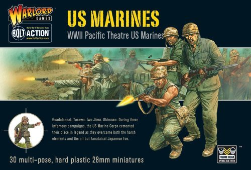 US Marine Corps, 28mm Bolt Action Wargaming Miniatures by Bolt Action