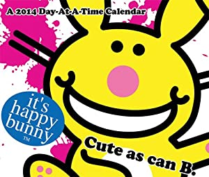 Amazon Com It S Happy Bunny 2014 Day At A Time Calendar