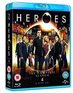 Heroes - Season 4 [Blu-ray] [2009]