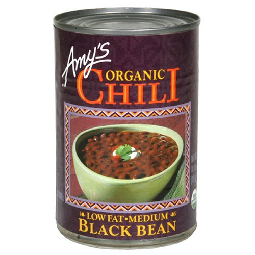 Amy's Organic Black Bean Chili, 14.7-Ounce Cans (Pack of 12)