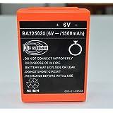 BA225030 6V 1500mah For HBC remote control crane truck driving FUB 05AA battery FAST
