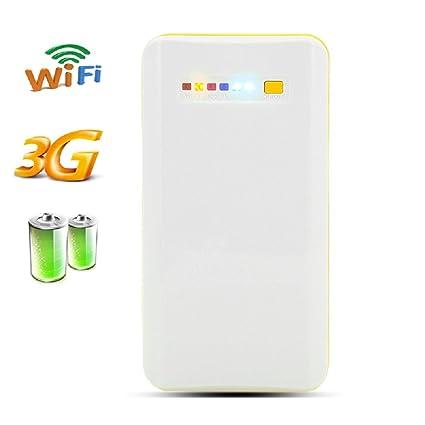 Routeur WiFi 3G Portable Sans fil + batterie - Capacité 7800mAh, NAS