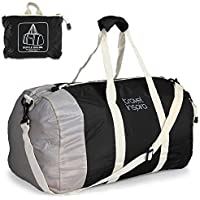 Travel Inspira Foldable Travel Luggage Lightweight Duffle Bag (Multi Colors)