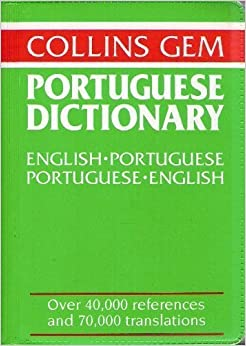 Portuguese Dictionary-Collins Gem ; English Portuguese ...