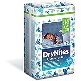 Huggies Dry Nites Pyjama Pants Jumbo Boy 4-7 ans 17-30 kg x 16 Couches