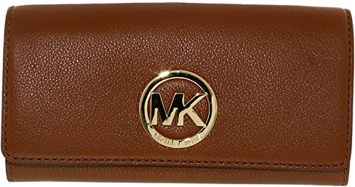 michael-kors-fulton-carryall-luggage-brown-leather-wallet-flap-clutch
