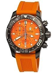 Victorinox Swiss Army Men's 241423 Summit XLT Orange Dial Watch