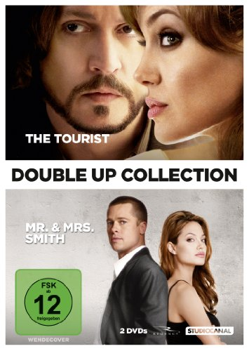 The Tourist / Mr. & Mrs. Smith (Double Up Collection, 2 Discs)