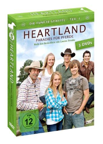 Heartland - Paradies für Pferde: Die fünfte Staffel, Teil 1 [3 DVDs]