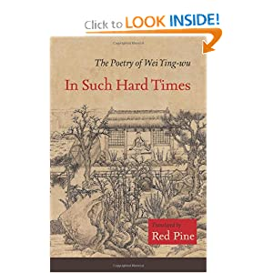 Download ebook In Such Hard Times: The Poetry of Wei Ying-wu
