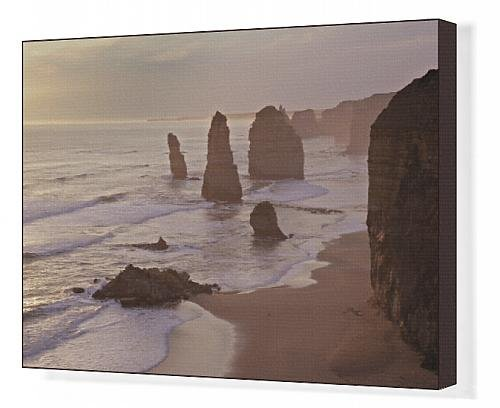 Canvas Print Of Australia, Victoria - The Twelve Apostles With Collapsed Stack In Foreground front-1067199