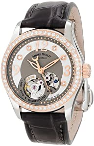 Armand Nicolet Women's 8653D-GN-P953GR8 LL9 Limited Edition Two-Toned Classic Automatic With Diamonds On Bezel Watch from Armand Nicolet