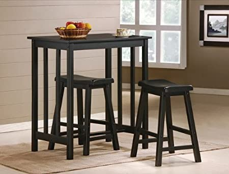 3 Piece Table and Bar Stool Set