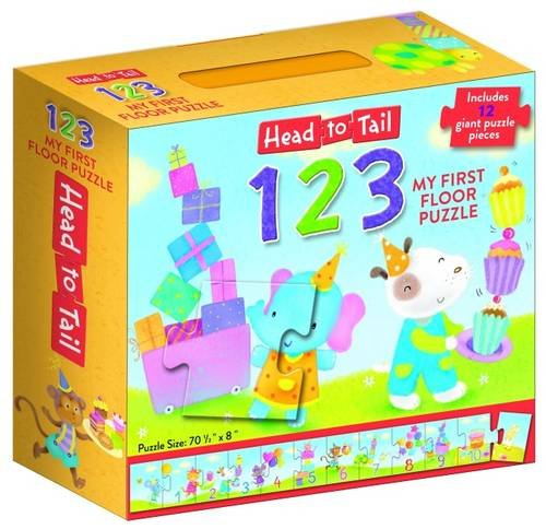 Head to Tail 123 Floor Puzzle (Jigsaw Puzzle)