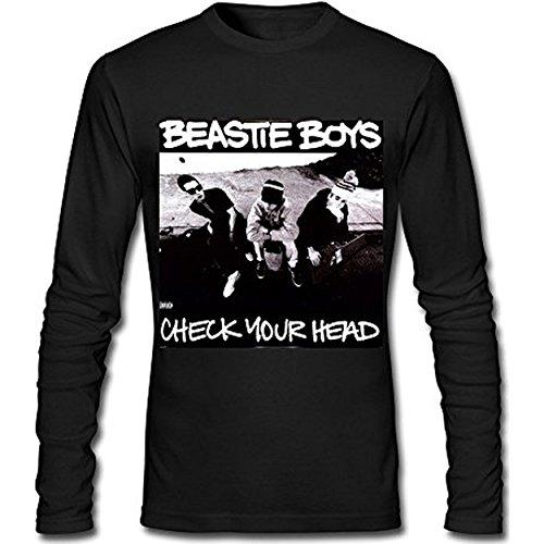 Taiyan-JBJ Men's Beastie Boys Check Your Head Long Sleeve T-shirt