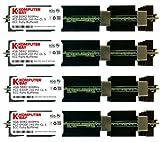 Komputerbay 16GB (4x 4GB) DDR2 PC2-6400F 800MHz ECC Fully Buffered FB-DIMM (240 ピン) 共 ヒートスプレッダ, 対して Apple コンピュータ MAC PRO 2008 3,1 (2.8 3.0 3.2)