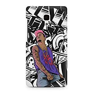 Uptown 18 Back Cover for RED MI 1S