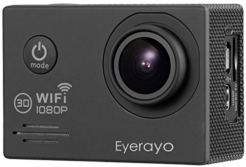 Eyerayo-20-Inch-WIFI-SJ7000-Sports-Camera-14MP-Full-hd-1080P-170-Degree-Wide-Angle-Lens-30m-Waterproof-Diving-Hd-Camcorder-HDMI-Output-H264-Car-DVR-Recorder-Wearable-Action-Hd-Digital-CameraBlack
