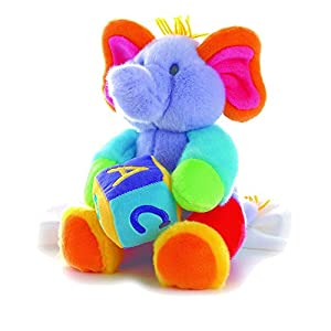 Babies R Us Plush A-B-C's Musical Elephant 12 inch Infant Plush 2PC