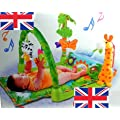 Babygift 3 in 1 Baby Play Gym Mat/Musical Baby Play Mat/1 2 3 Musical Play Gym.