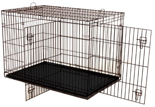 Dogit 2-Door Wire Animal/ Dog Crate for Pet Upto 41 Kg, XL, 105 x 71cm