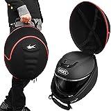 CarOver フルフェイス ヘルメット バッグ ハード ケース 汎用 通気孔 保護 持ち運び 携帯 トランポ バイクレース サーキット 固定 保管 SHOEI ARAI アライ MO-HELMET-BAG