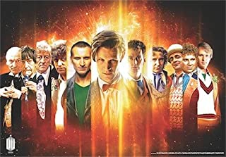 Doctor Who Wallpaper Mural - 50th Anniversary 1 (Fixed Size)