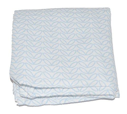 1x-Muslin-Square-100-Cotton-Blue-Waves-70-x-70-cm