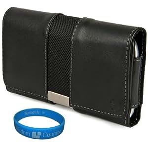 Dwlux Premium Faux Leather Horizontal Executive Case (Lea335)