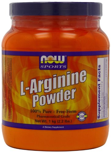 Now Foods L-Arginine Powder, 2.2-Pound Tub