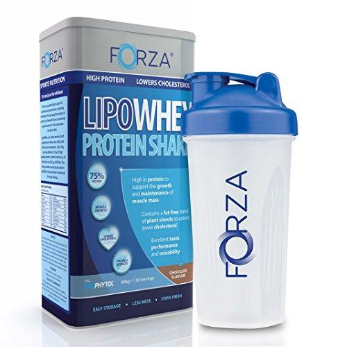 FORZA Whey Protein Pack - LipoWhey (Chocolate) & Whey Protein Shaker (700ml)