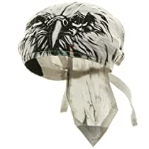 Sweat Band Series Headwrap-Airbrushed Eagle