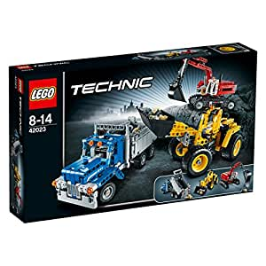 Lego technic 42023 construction crew toys - Jeux de construction lego technic ...