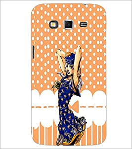 PrintDhaba Cute Girl D-4376 Back Case Cover for SAMSUNG GALAXY GRAND 2 (Multi-Coloured)