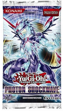 Yu-Gi-Oh Cards Zexal - Photon Shockwave - Booster Packs (5 Pack Lot) - 1