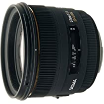 Sigma 50mm f/1.4 EX DG HSM Lens for Nikon Digital SLR Cameras