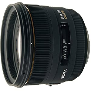 Sigma 50mm f/1.4 EX DG HSM Lens for Canon Digital SLR Cameras