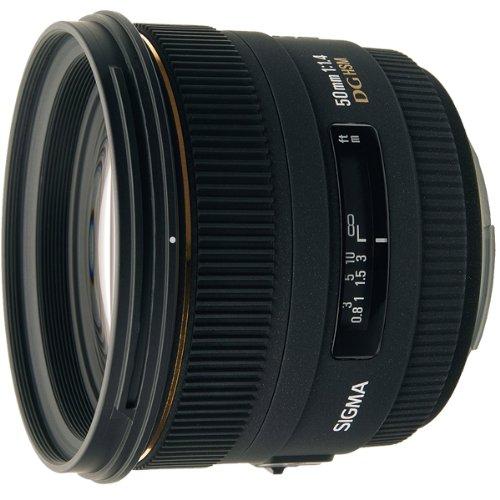Sigma 50mm f/1.4 EX DG HSM Lens for Nikon Digital