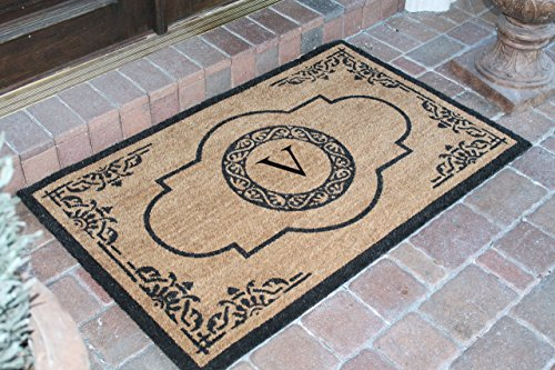 first-impression-hand-crafted-abrilina-entry-monogrammed-double-doormat-30-x-48-pt4007v